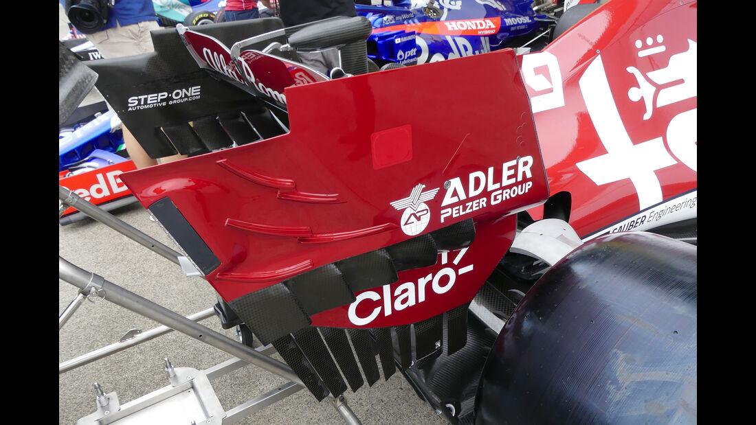 Alfa Romeo - Formel 1 - GP Japan - Suzuka - 10. Oktober 2019