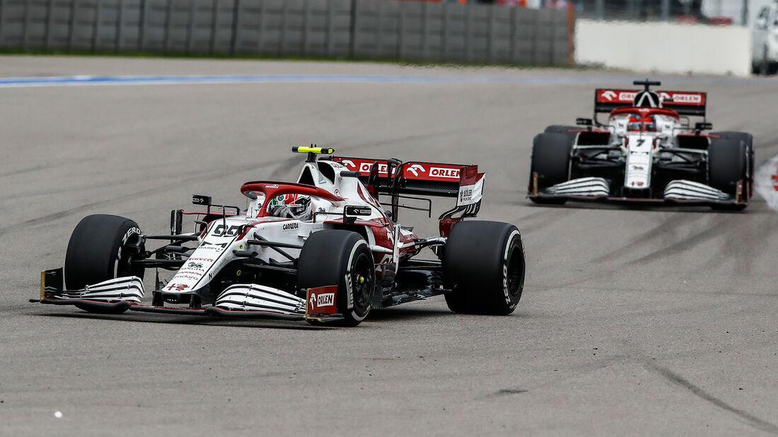 Alfa Romeo - Formel 1 - GP Russland 2021