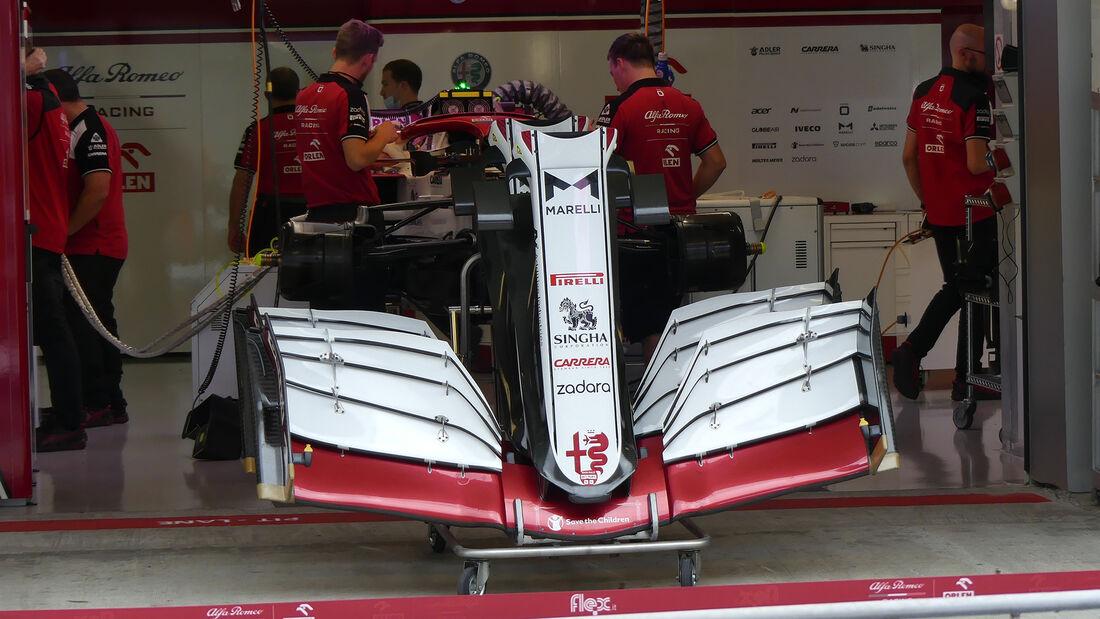Alfa Romeo - Formel 1 - GP Russland - Sotschi - Donnerstag - 23.09.2021