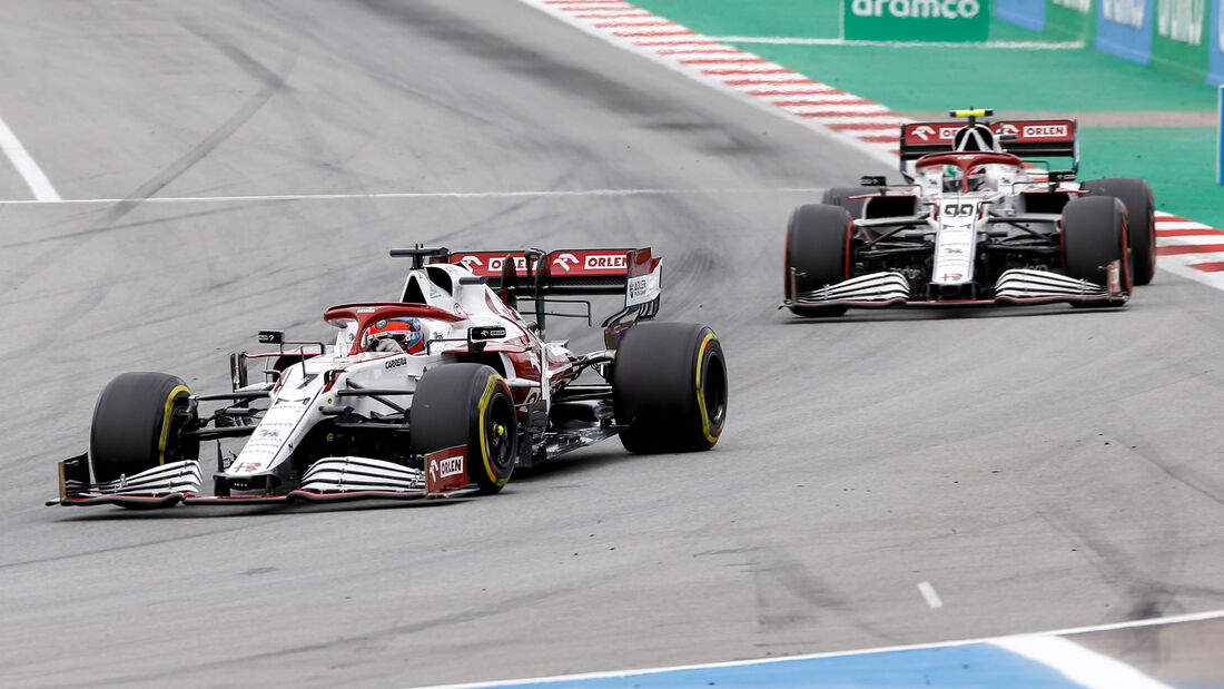 Alfa Romeo - Formel 1 - GP Spanien 2021