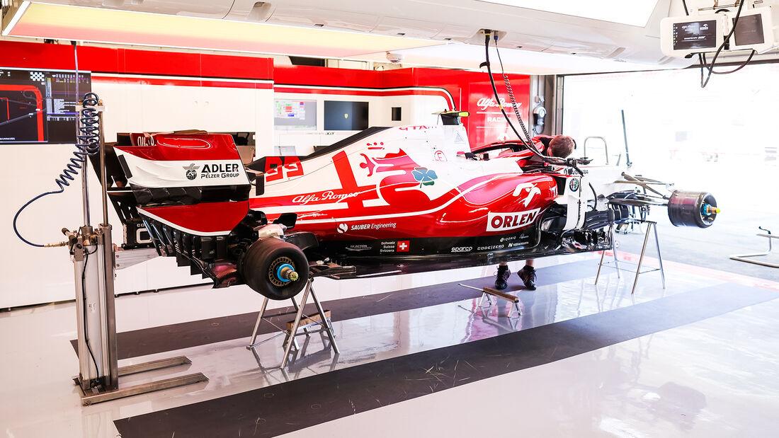 Alfa Romeo - Formel 1 - GP Spanien - 7. Mai 2020
