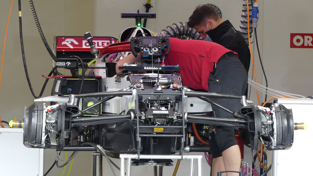 Alfa Romeo - Formel 1 - GP Türkei - Istanbul - 7. Oktober 2021