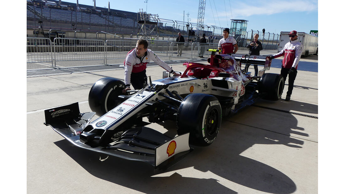 Alfa Romeo - Formel 1 - GP USA - Austin - 31. Oktober 2019