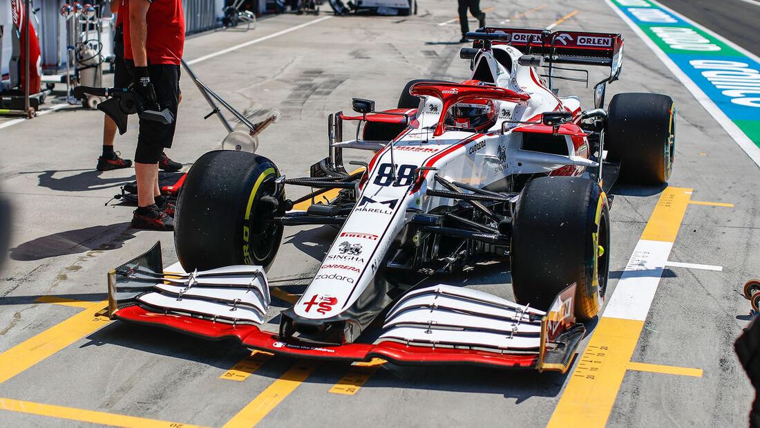 Alfa Romeo - Formel 1 - GP Ungarn 2021