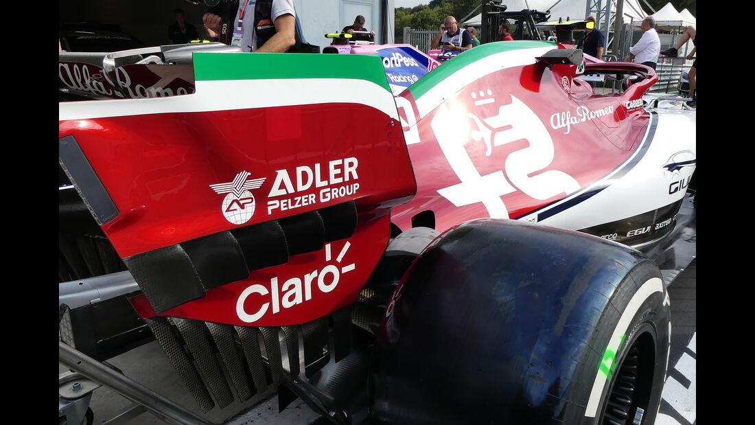 Alfa Romeo - Formel 1 -Technik-Updates - 2019