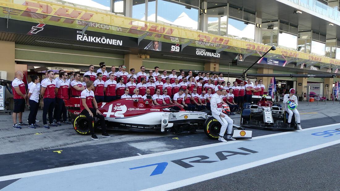 Alfa Romeo - GP Abu Dhabi - Formel 1 - Freitag - 29.11.2019