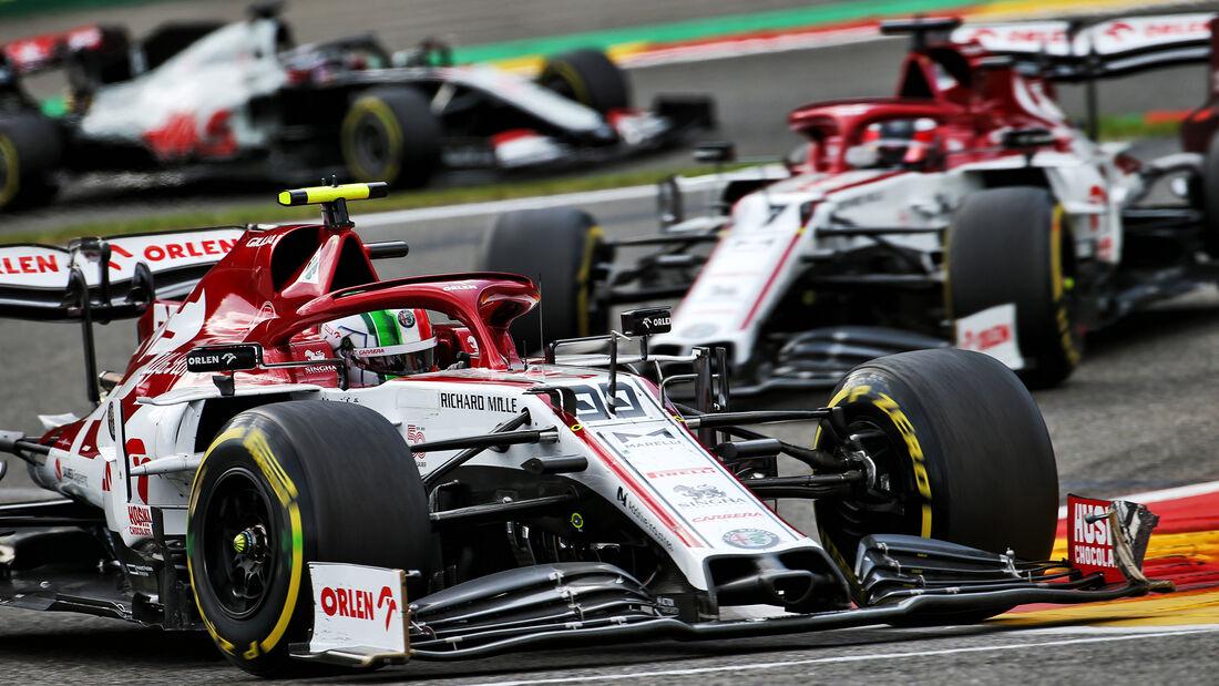 Alfa Romeo - GP Belgien 2020