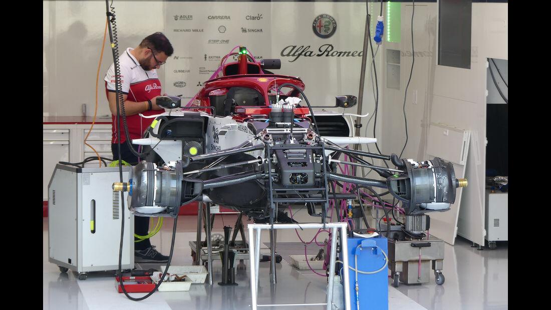 Alfa Romeo - GP Belgien - Spa-Francorchamps - Formel 1 - Donnerstag - 29.8.2019