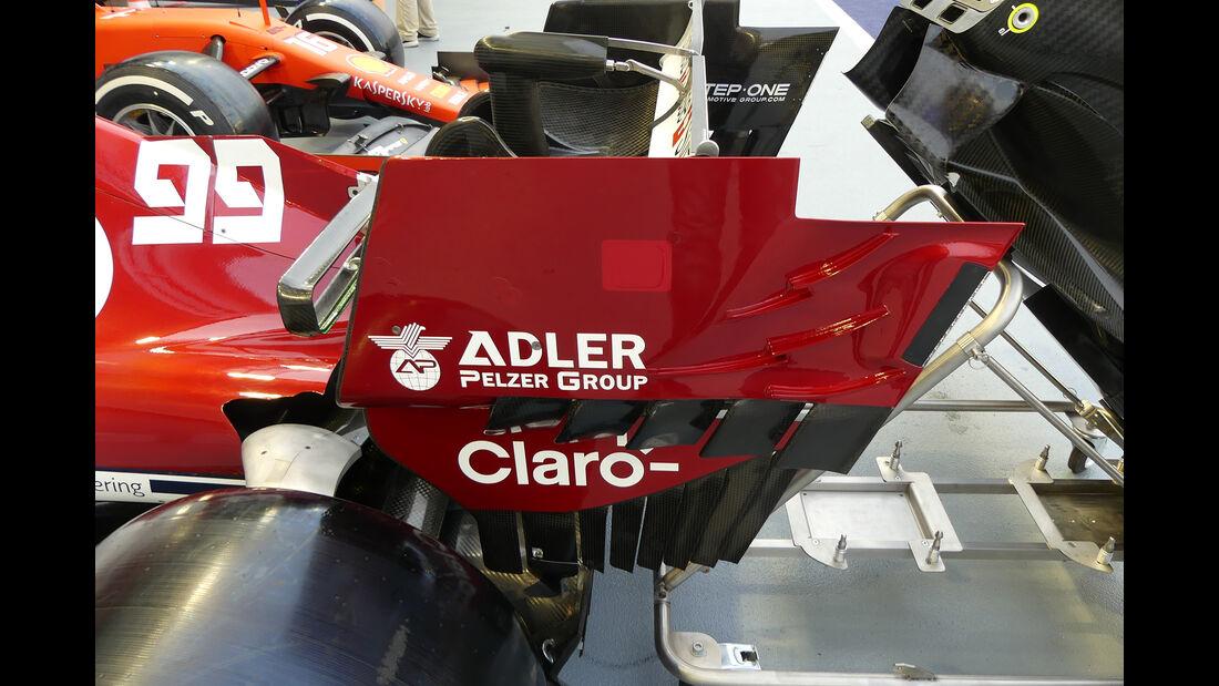 Alfa Romeo - GP Singapur - Formel 1 - Donnerstag - 19.9.2019