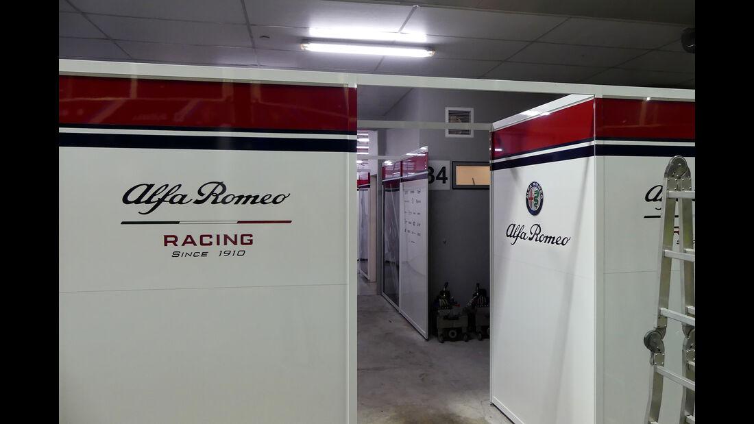 Alfa Romeo - GP Singapur - Formel 1 - Mittwoch - 18.09.2019