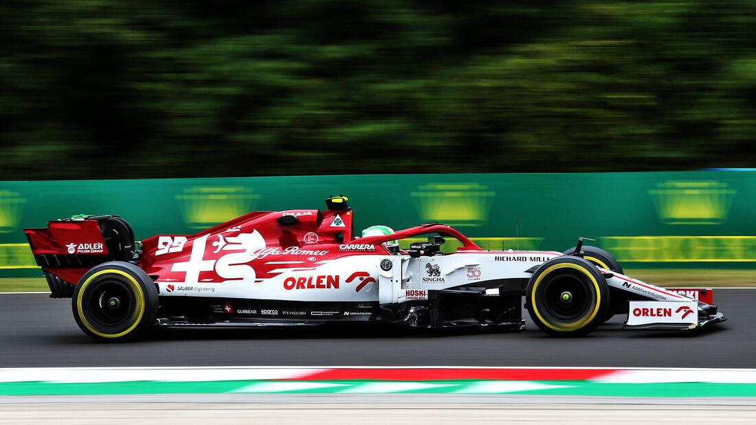 Alfa Romeo - GP Ungarn 2020