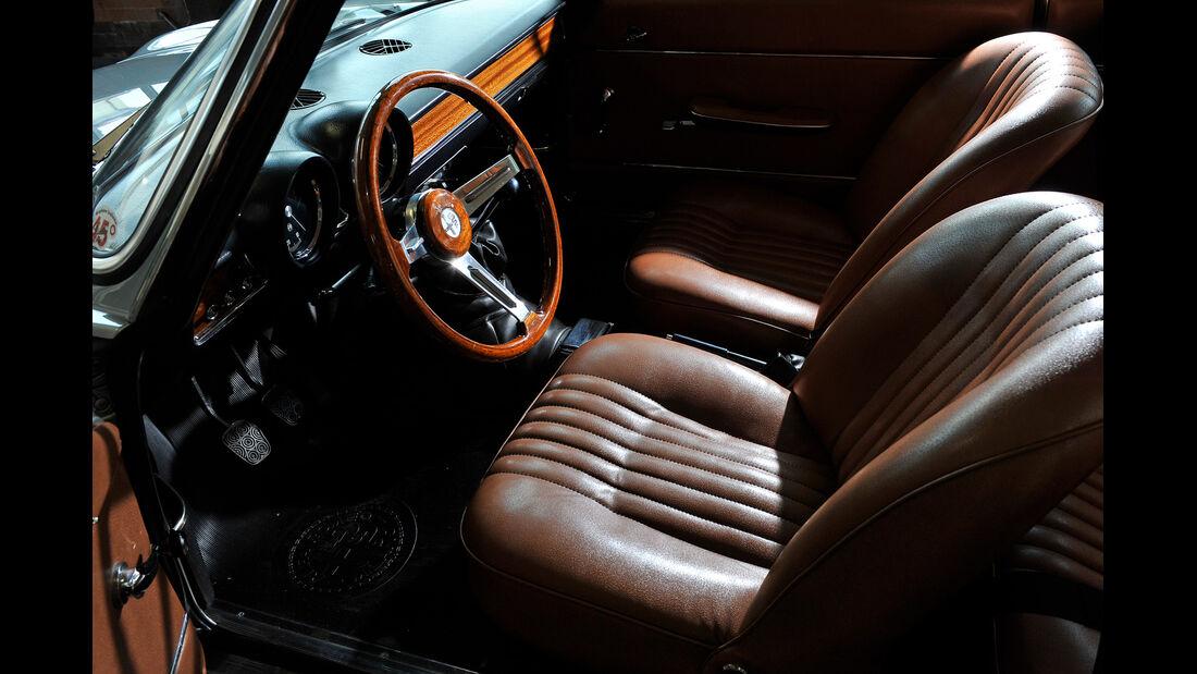 Alfa Romeo GT Junior, Fahrersitz