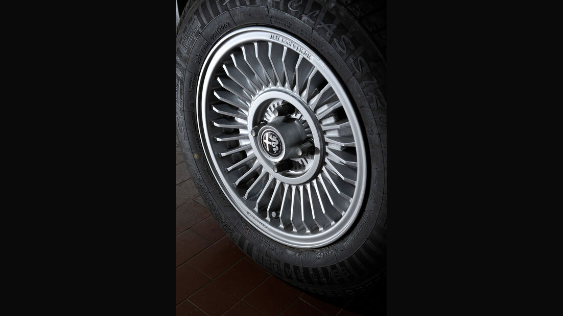 Alfa Romeo GT Junior, Reifen, Felge