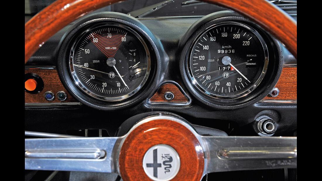 Alfa Romeo GTV 1750/2000, Rundinstrumente
