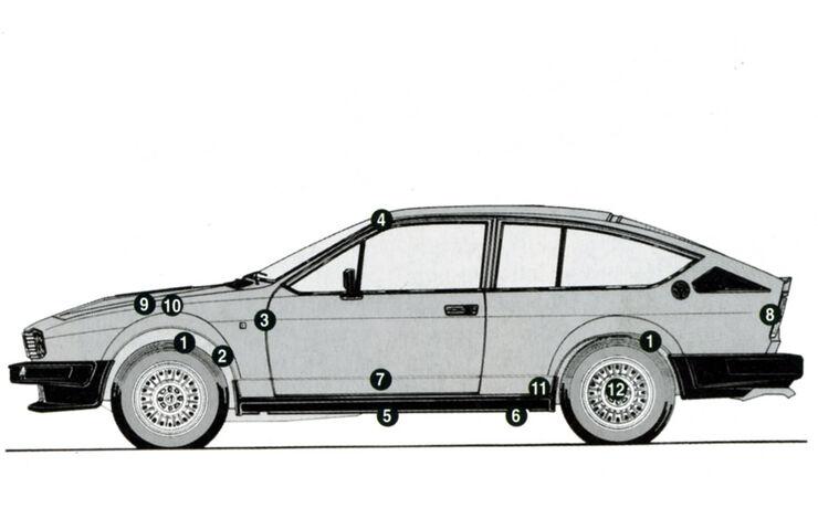 Alfa Romeo GTV 6