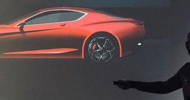Alfa Romeo GTV Teaser