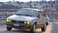 Alfa Romeo GTV6, Frontansicht