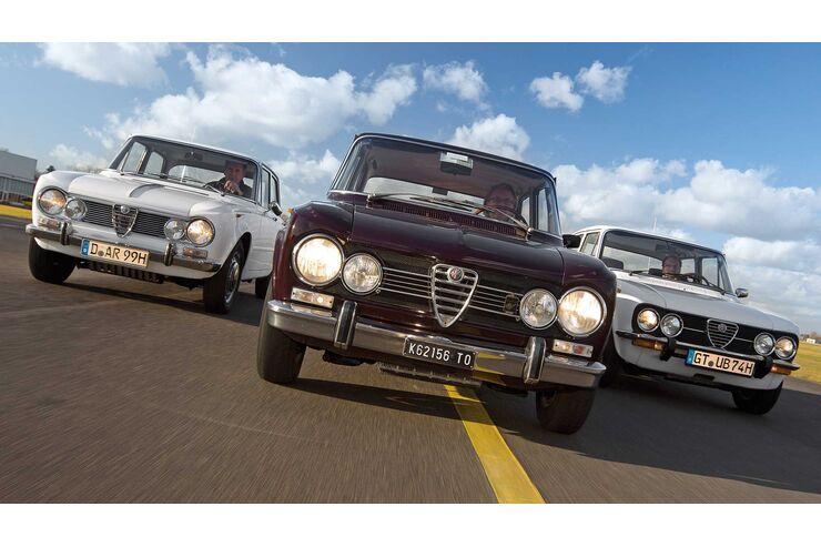 Alfa Romeo Giulia (1962-1978) Kaufberatung