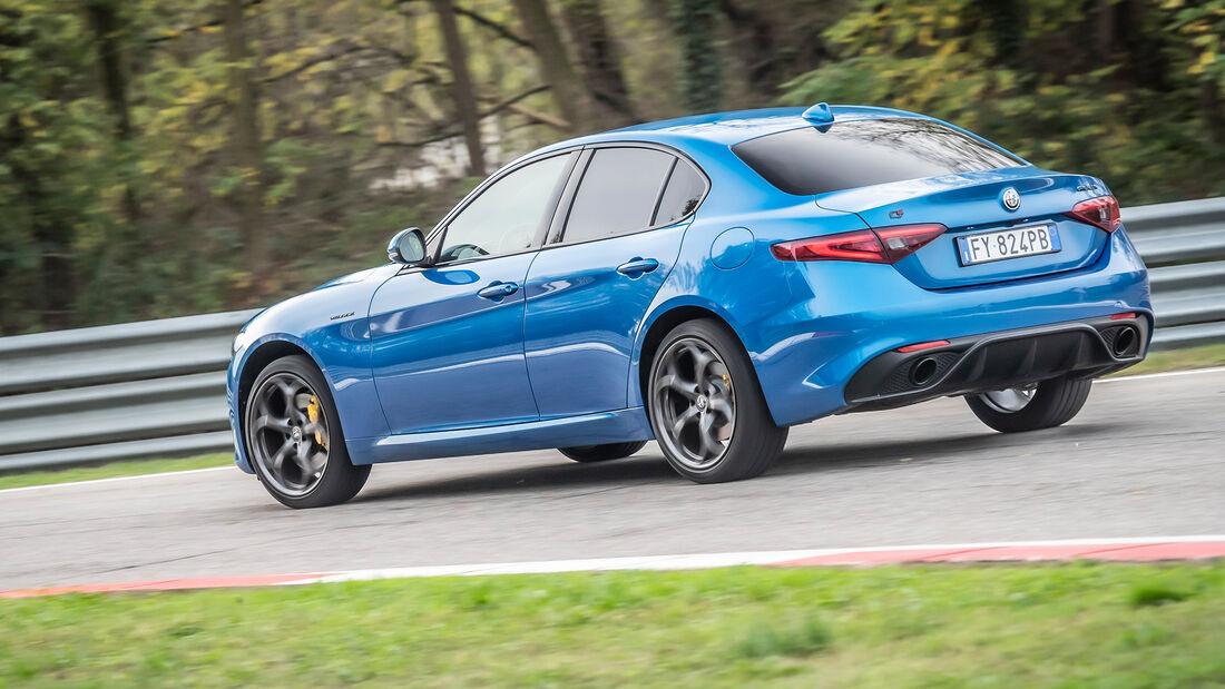 Alfa Romeo Giulia 2,0-Liter-Benziner - 280 PS - Modelljahr 2020 - Limousine