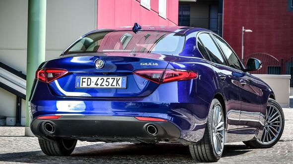 Alfa Romeo Giulia 2.2 Diesel, Heckansicht
