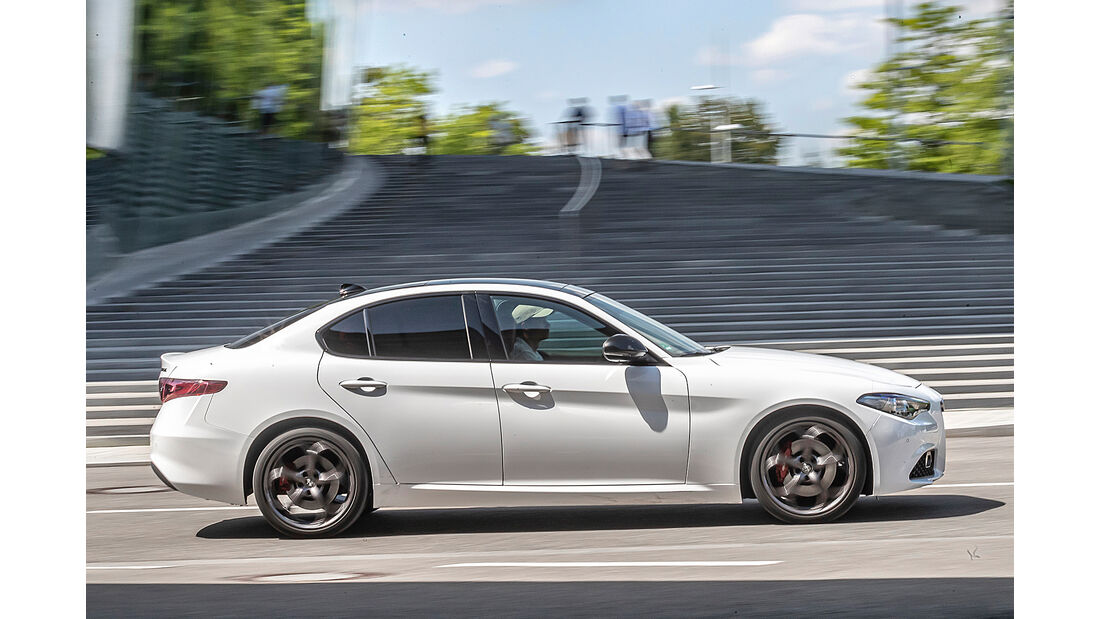 Alfa Romeo Giulia 2.2 d, Exterieur