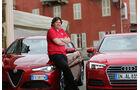 Alfa Romeo Giulia, Audi A4,