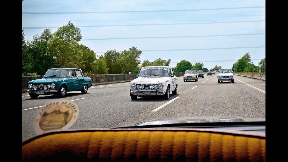 Alfa Romeo Giulia, Autobahn