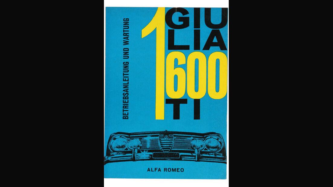 Alfa Romeo Giulia, Betriebsanleitung