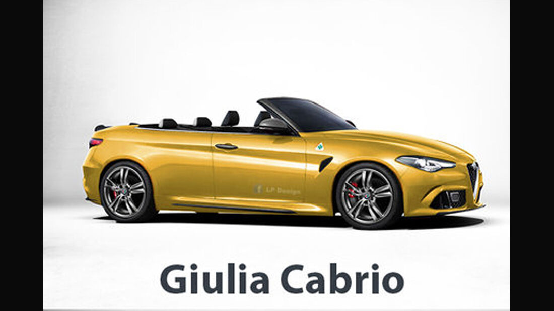 Alfa Romeo Giulia Cabrio