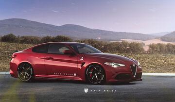 Alfa Romeo Giulia Coupé - Design-Konzept - Grafikkünstler Rain Prisk