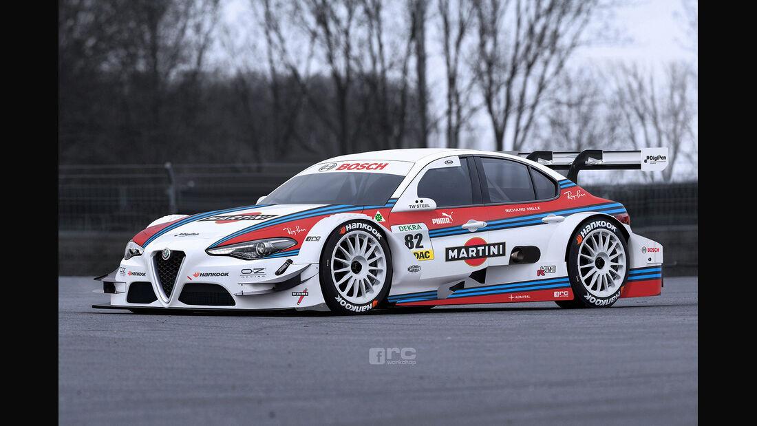 Alfa Romeo Giulia - DTM-Version - Photoshop