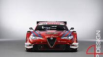 Alfa Romeo Giulia, DTM, WTCC, Motorsport, Konzept