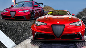 Alfa Romeo Giulia ETCR Furia Rossa Romeo Ferraris Tourenwagen Elektro