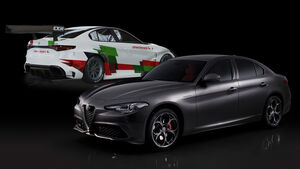 Alfa Romeo Giulia ETCR Romeo Ferraris