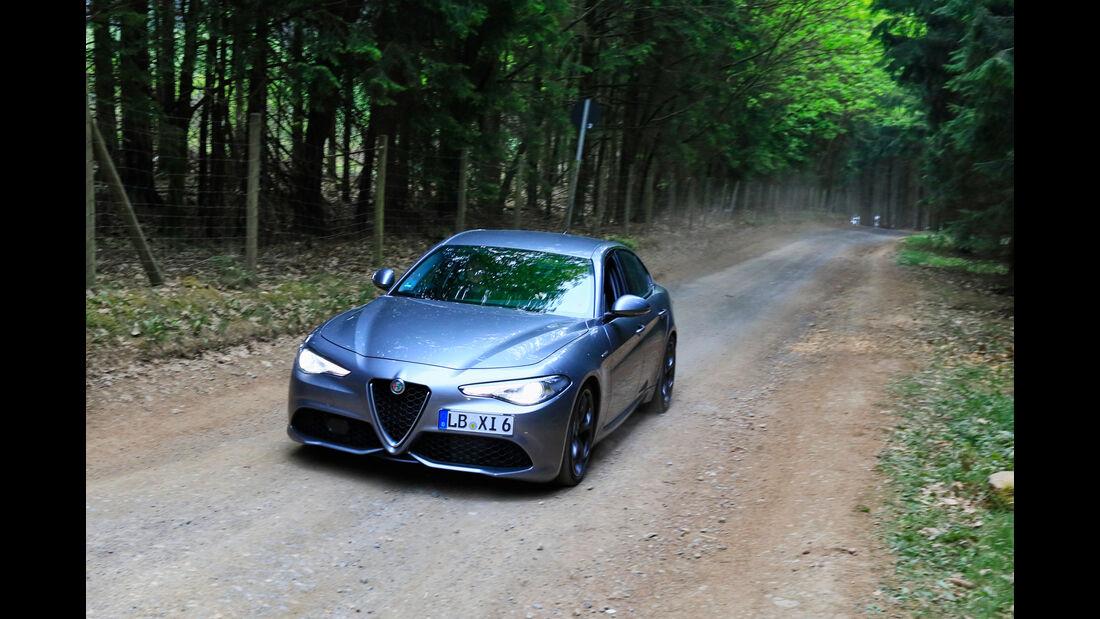 Alfa Romeo Giulia - Fan-Autos - 24h-Rennen Nürburgring 2018 - Nordschleife