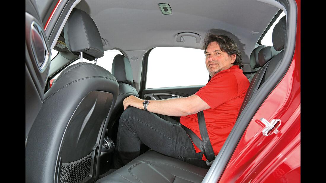 Alfa Romeo Giulia, Fondsitz