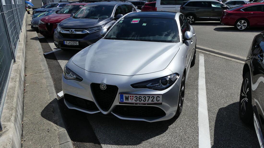 Alfa Romeo Giulia - Frederic Vasseur - Formel 1 - GP Ungarn 2021