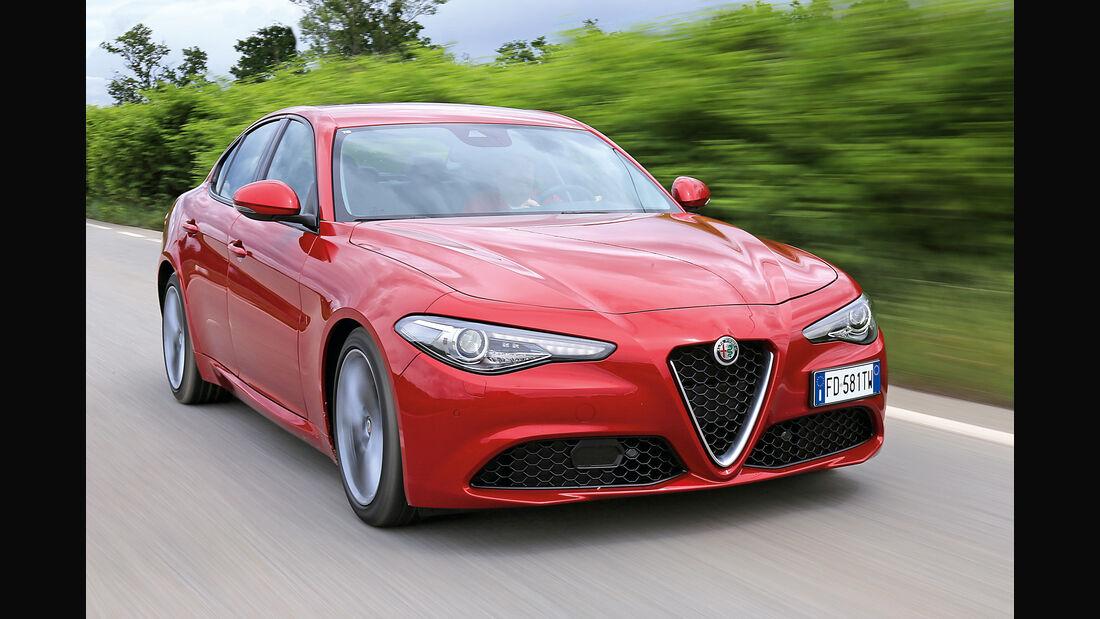 Alfa Romeo Giulia, Frontansicht