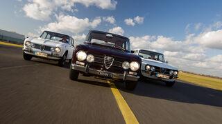 Alfa Romeo Giulia, Frontansicht, verschiedene Modelle