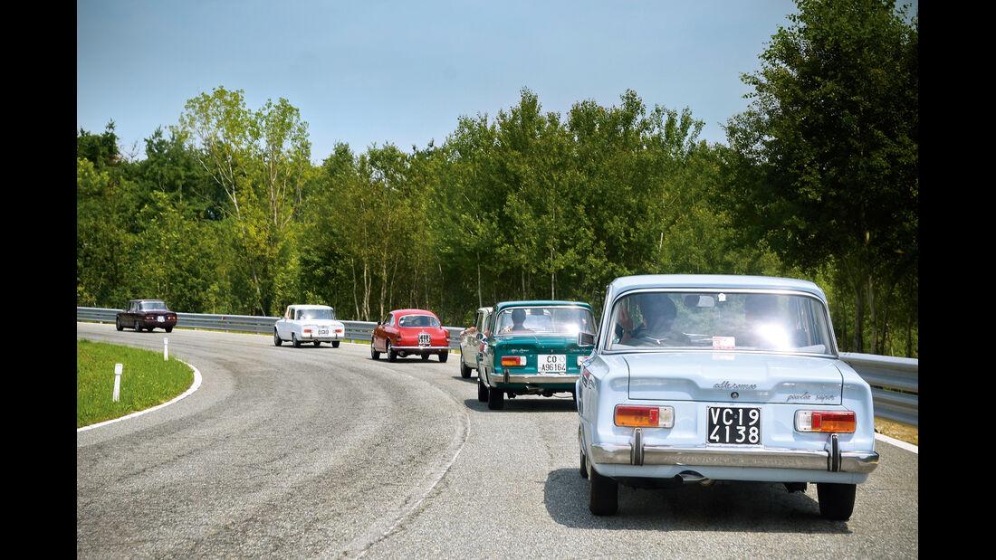 Alfa Romeo Giulia, Heckansicht