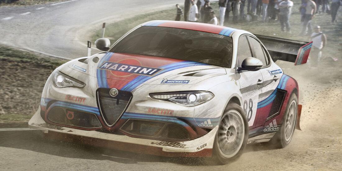 Alfa Romeo Giulia - Moderne Rallye-Legenden