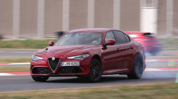 Alfa Romeo Giulia QV, Driften