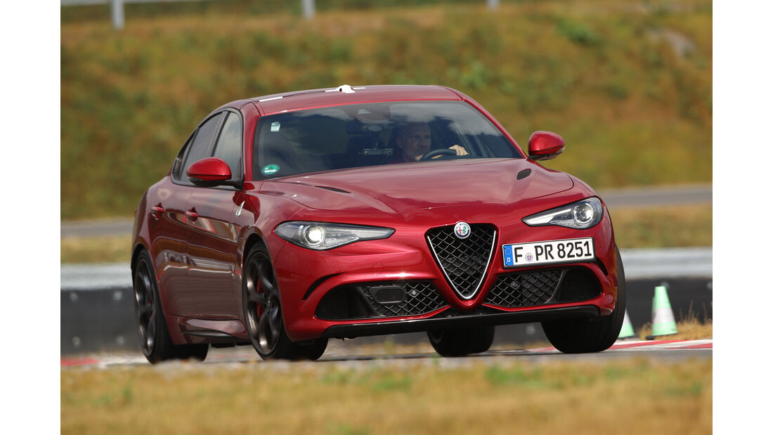 Alfa Romeo Giulia QV, Frontansicht