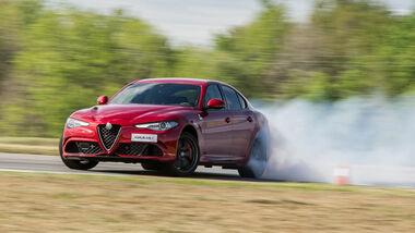 Alfa Romeo Giulia QV, Quadrifoglio, Fahrbericht
