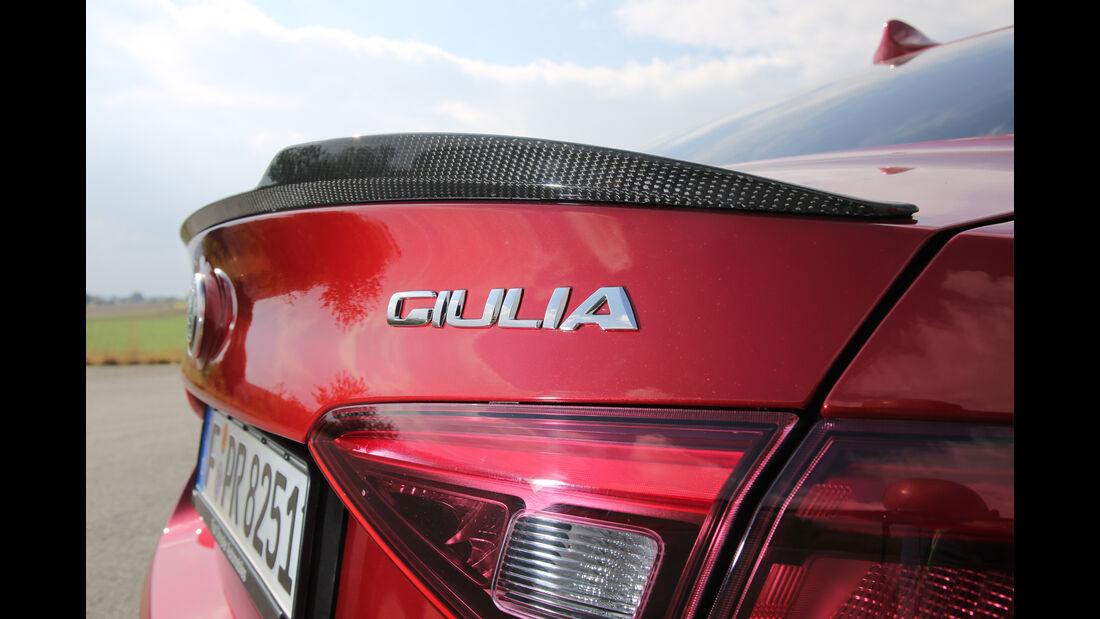 Alfa Romeo Giulia QV, Typenbezeichnung