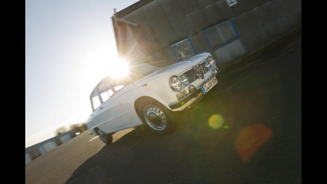 Alfa Romeo Giulia, Seitenansicht