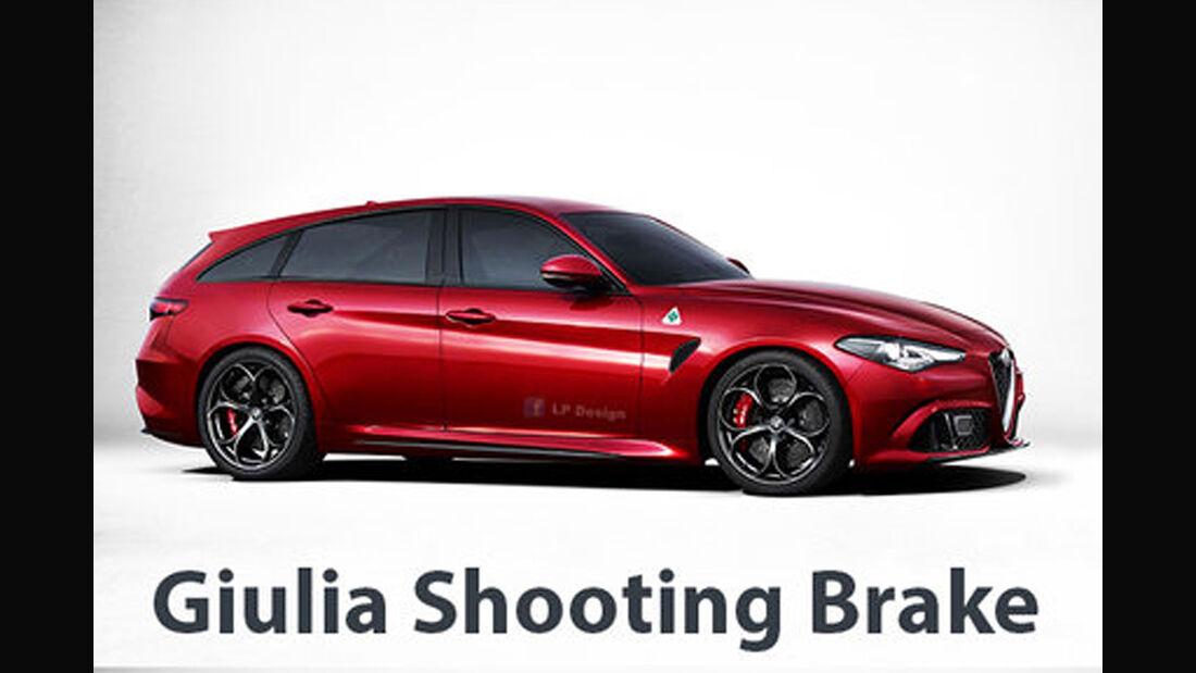 Alfa Romeo Giulia Shooting Brake