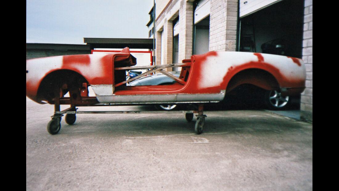 Alfa Romeo Giulia Spider, Chassis