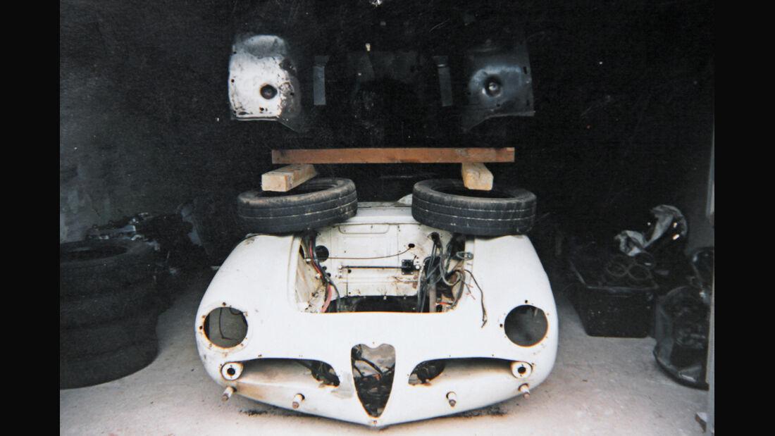 Alfa Romeo Giulia Spider, Garagenfund