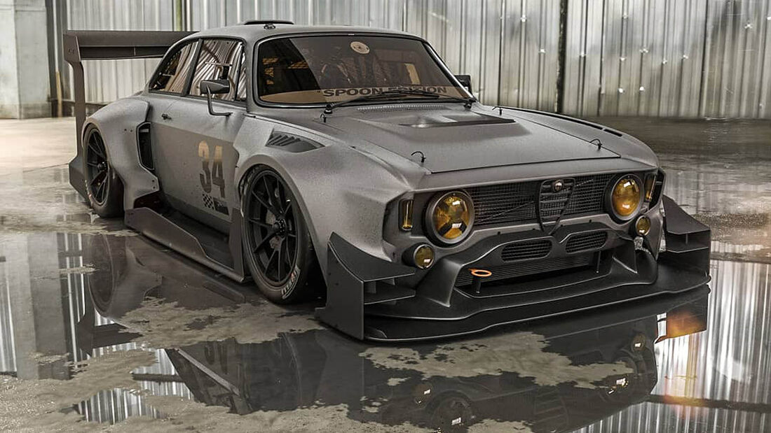 Alfa Romeo Giulia Sprint GTA Spoon Edition Hill Climb Spec